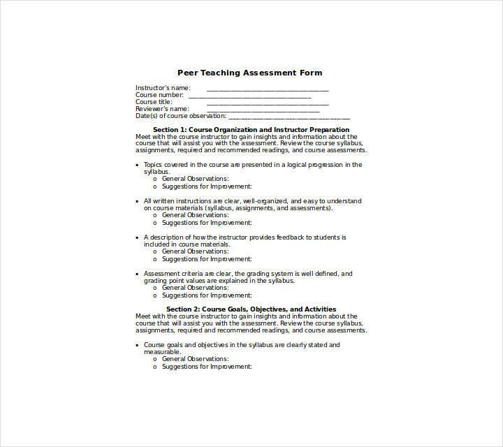 peer-teaching-assessment-form