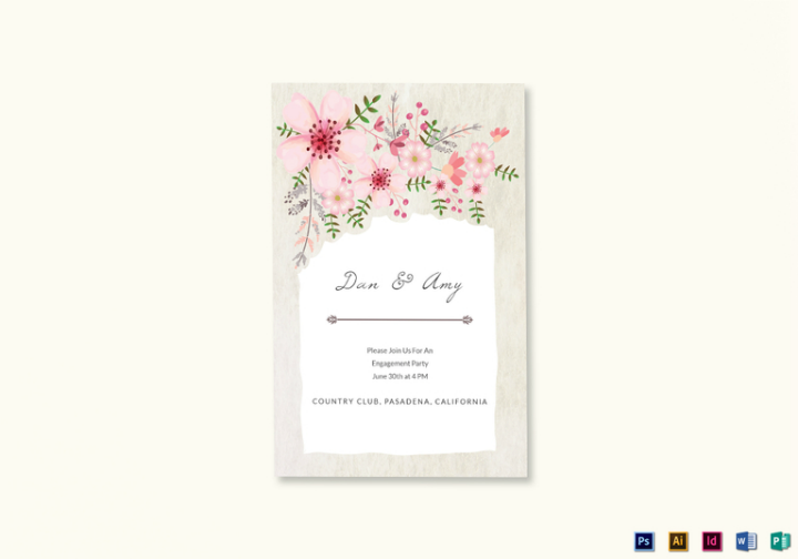 pink-floral-wedding-announcement-psd-template