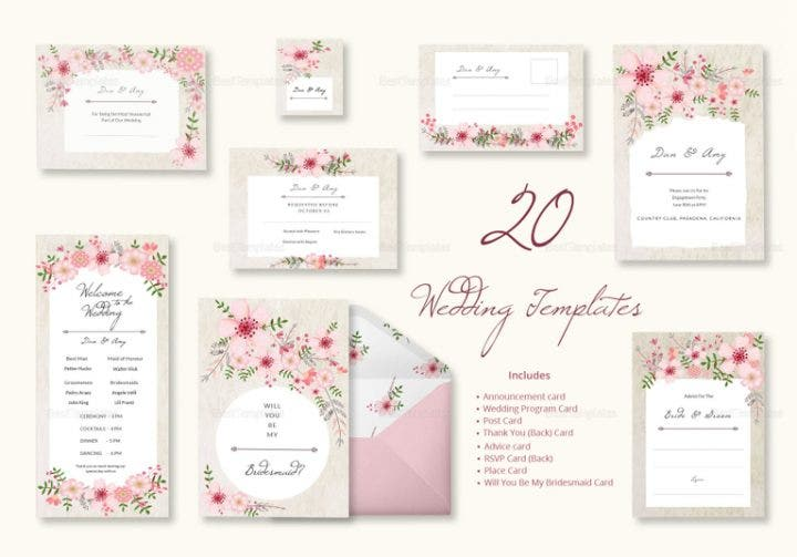 pink-floral-wedding-templates-includes-20-designs