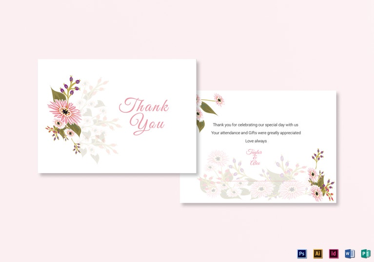 pink-floral-wedding-thank-you-card-template