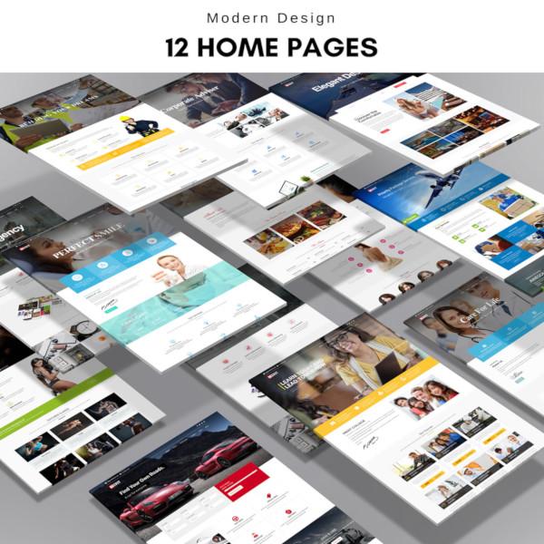 premium multi purpose html5 template