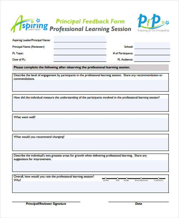 professional-learning-form