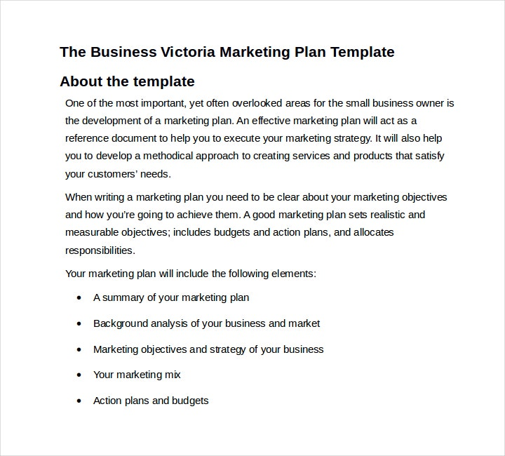 Restaurant Business Marketing Plan Proposal