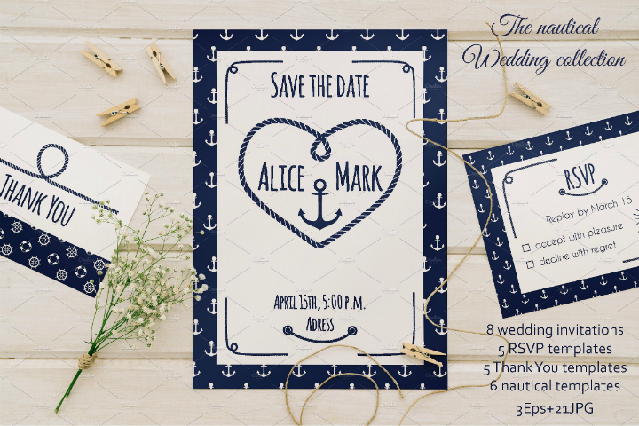 sailor-pattern-nautical-wedding-collection
