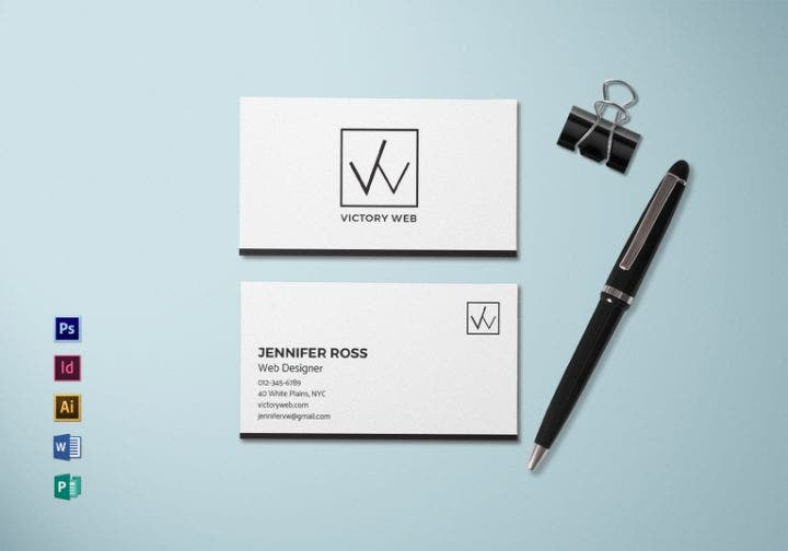 simple business card mock up 767x537 e1511254535916
