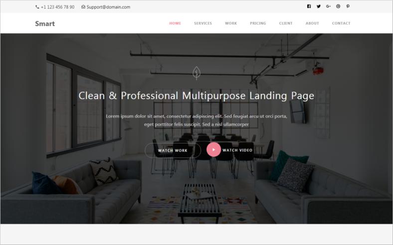smartresponsivebootstrap4html5websitetemplate