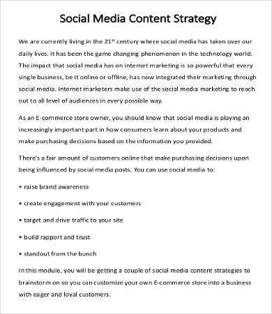 Social Media Campaign Strategy Example