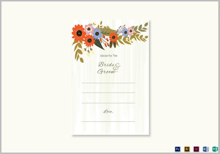 summer-floral-wedding-advice-card-design-template
