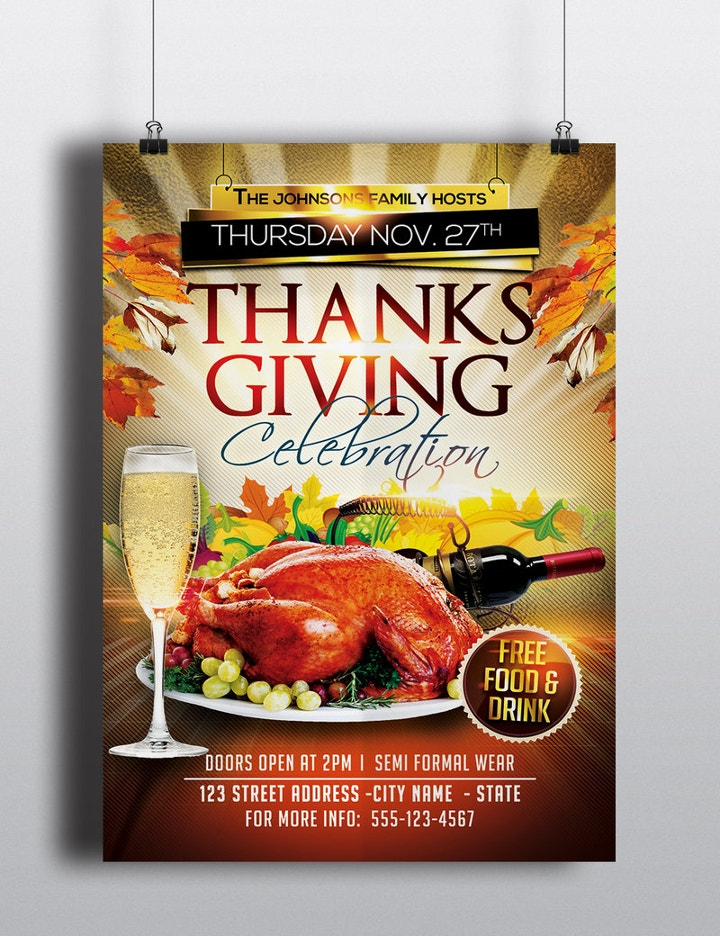 thanksgiving-celebration-flyer-template