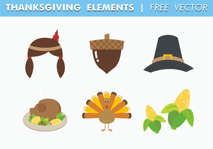 thanksgiving elements template