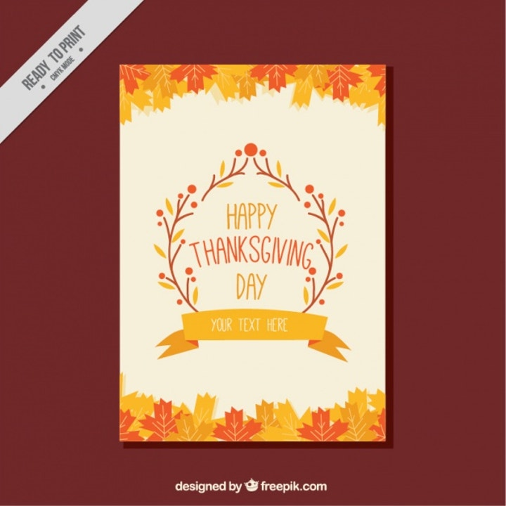 thanksgiving greeting template