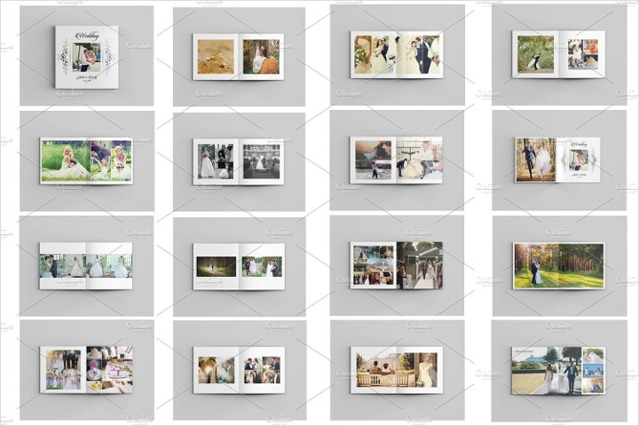Wedding Photo Album Template