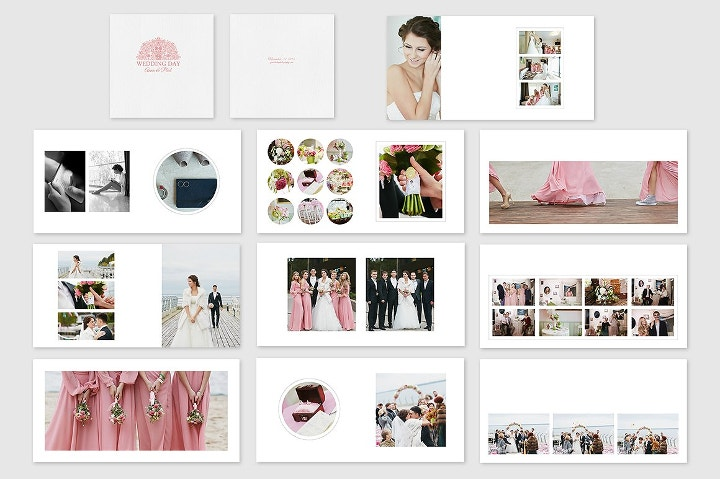 Wedding Photography Album Template