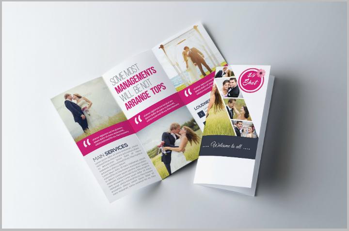 wedding-program-trifold-brochure-template