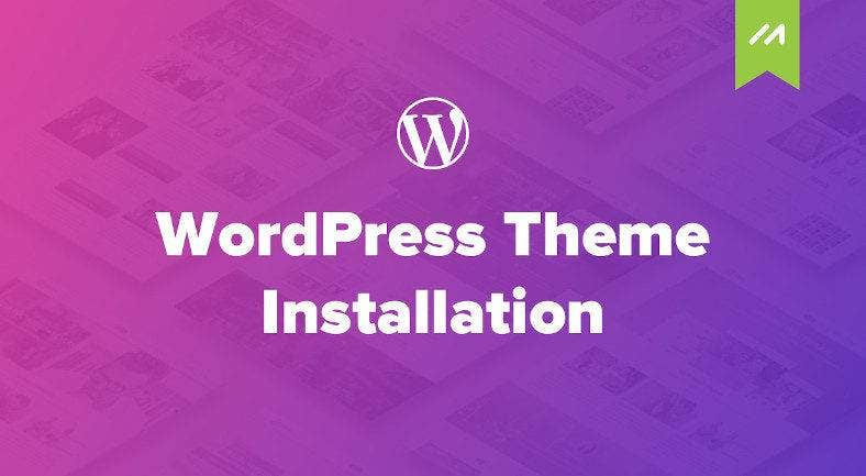 wordpress theme installation 788x433