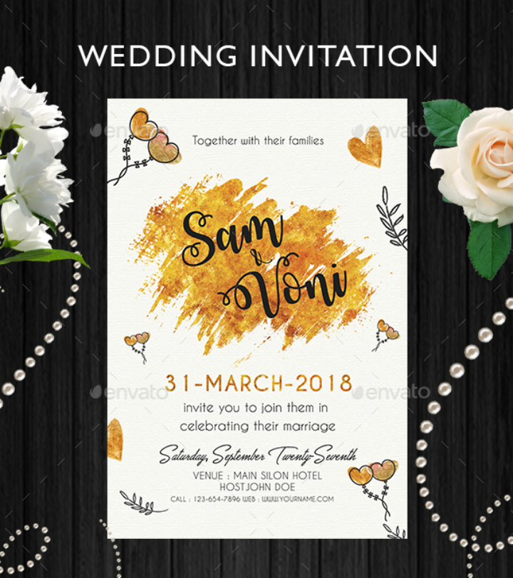 yellow-gold-summer-wedding-invitation-template