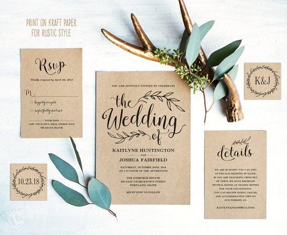 18 Bohemian Wedding Templates Editable Psd Ai Indesign Format Download Free Premium Templates