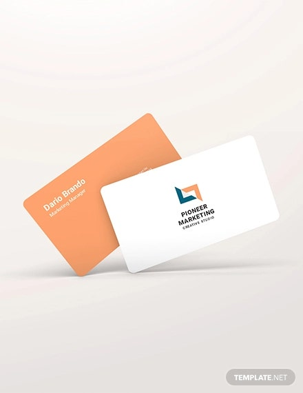 marketing agency business card1