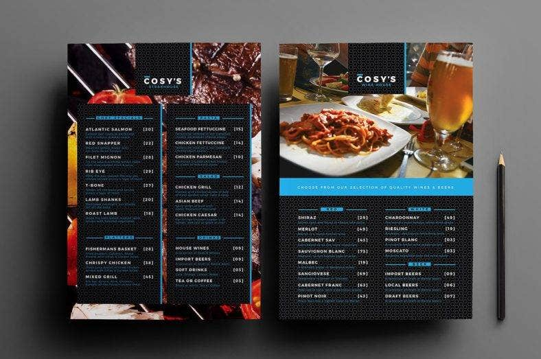 14  a4 restaurant designs  u0026 templates