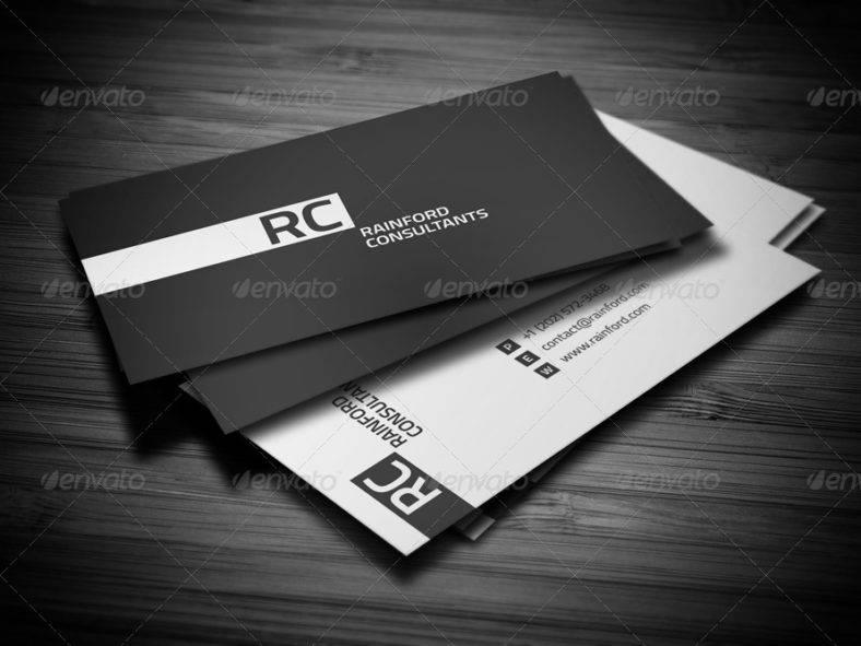 personalblackandwhitebusinesscard