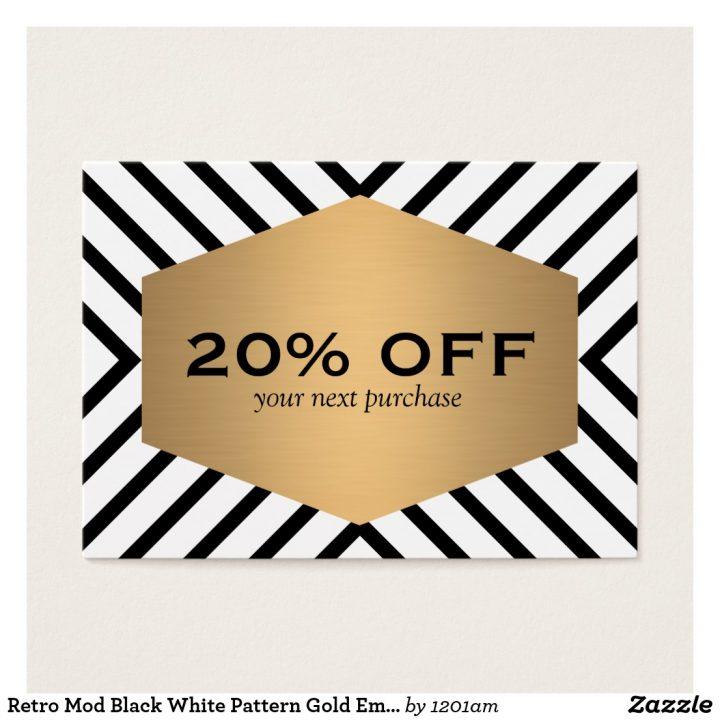 retro_mod_black_white_pattern_gold_emblem_coupon_business_card-rce0de4283e8a4a10bf42657f34bb8be3_ken53_8byvr_1024