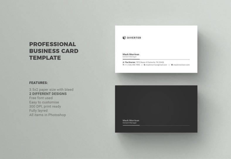simpleprofessionalblackandwhitebusinesscard
