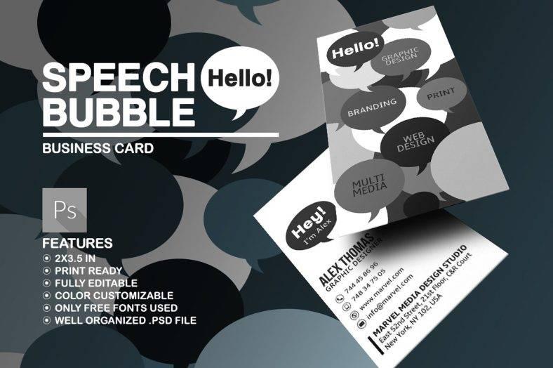 speech-bubble-business-card