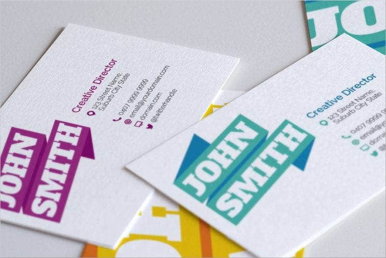 yescreativegraphicribbonbusinesscards