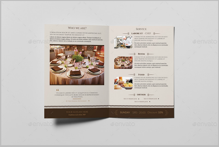 11 Restaurant Take Out Brochure Templates Free Premium Templates