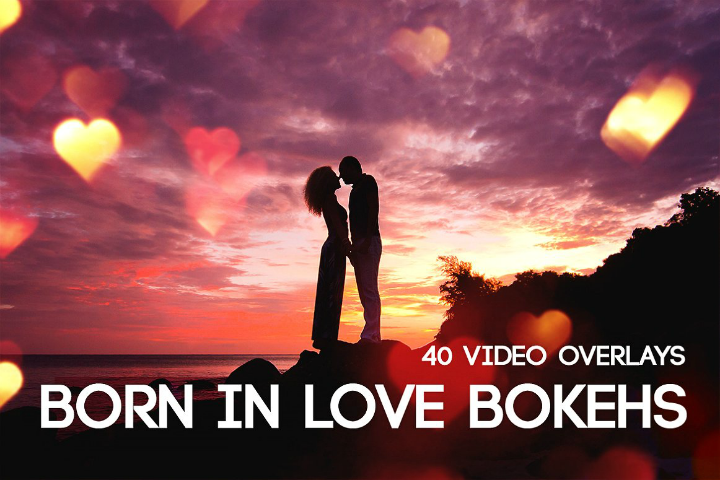 bokehs wedding after effects template