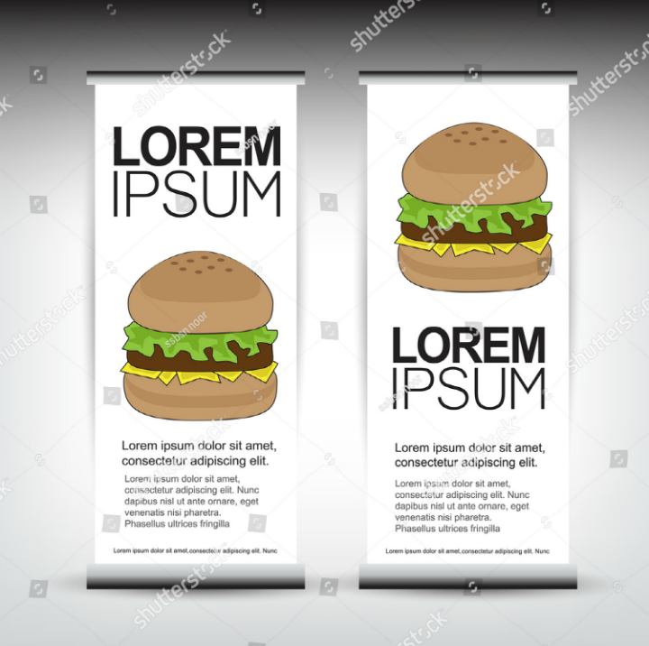 burger-restaurant-roll-up-banner-design
