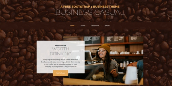 business-casual-bootstrap-4-theme