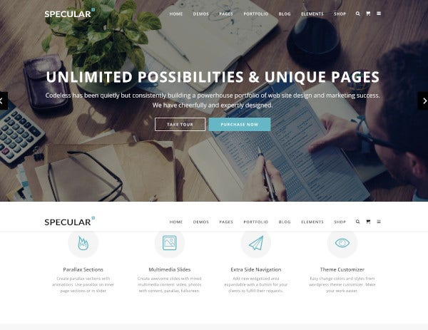 business wordpress multi purpose theme