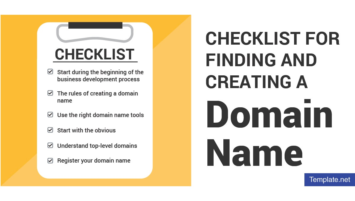 checklistforfindingandcreatingadomainname