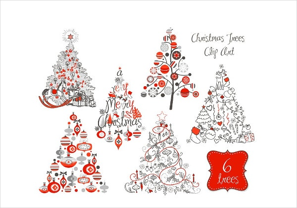 christmas-tree-retro-clip-art