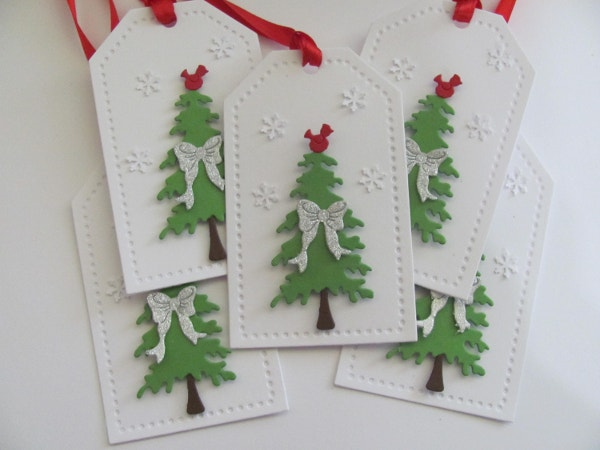 christmas tree tags