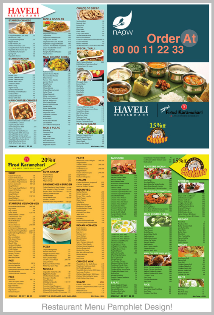 colorful-restaurant-menu-pamphlet-design