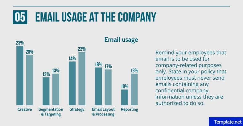 company email usage