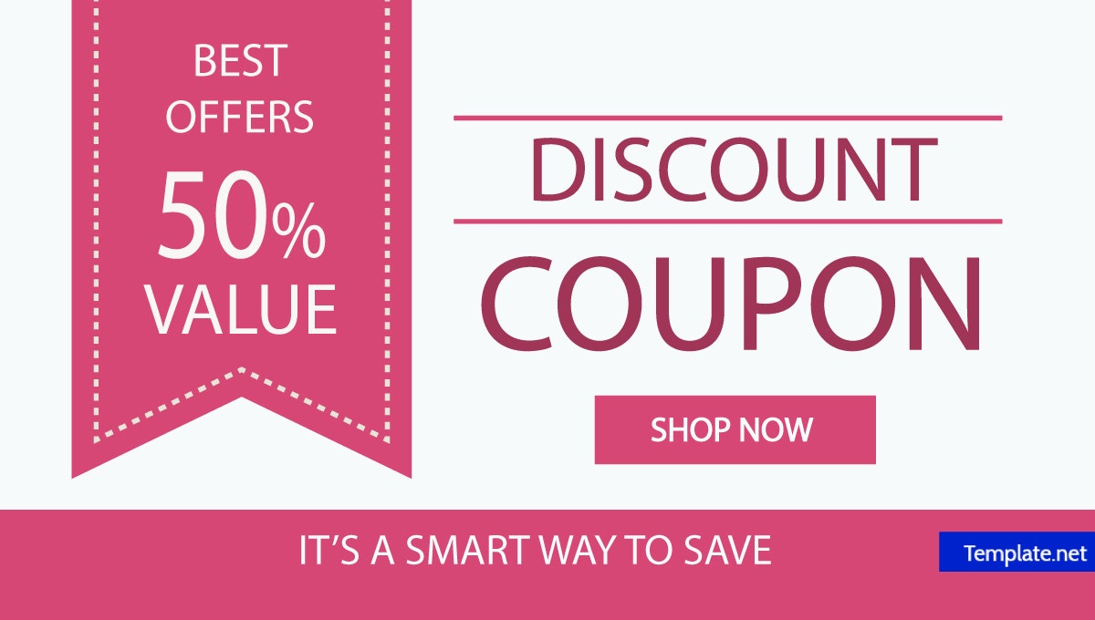 discount coupon word template