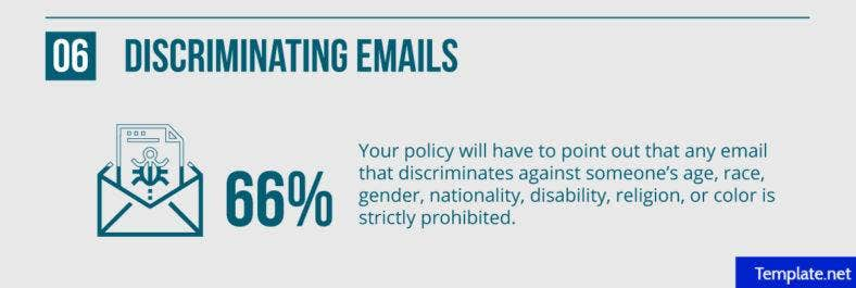Discriminating emails
