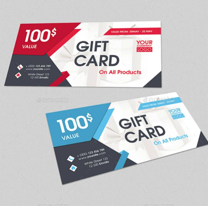 14 restaurant gift certificates free premium templates for Dining gift certificate template