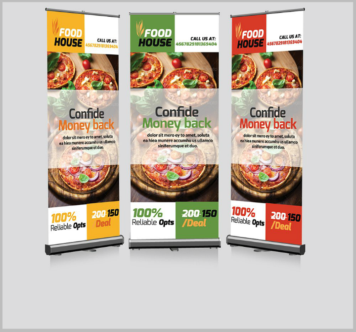 editable-restaurant-roll-up-banner-template