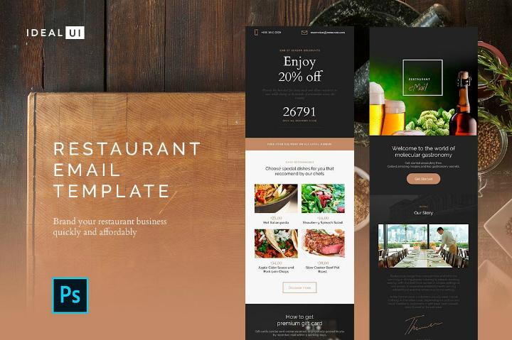 elegant-restaurant-email-template