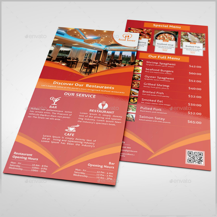 formal-restaurant-rack-card-template
