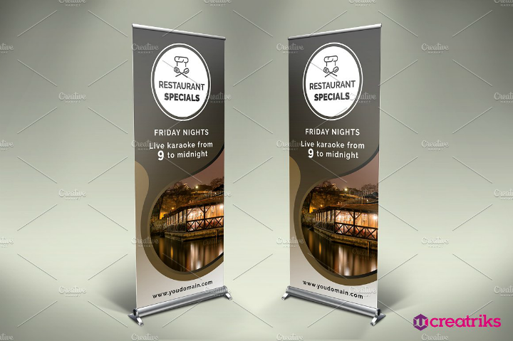 formal-restaurant-roll-up-banner-template