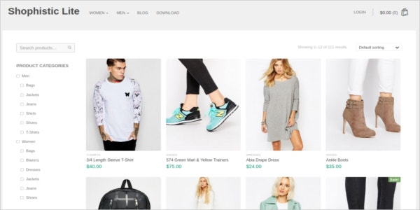 free casual wear ecommerce wordpress theme