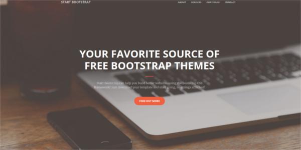 free creative portfolio bootstrap 4 template