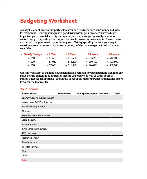 free-home-budgeting-worksheet