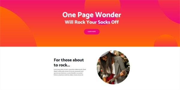 free-one-page-wonder-bootstrap-4-theme
