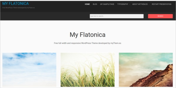 free responsive clean wordpress theme with minimalist design